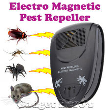 Ultrasonic Electro Magnetic Pest Repellent For Mosquito Insect Mouse Cockroach