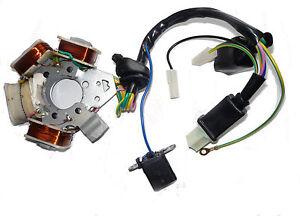 Stator allumage capteur PEUGEOT 103 RCX SP SPX MVL électronique 4 bobine 1V NEUF