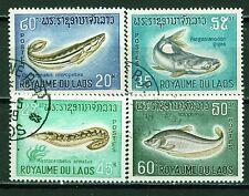 Laos Kingdom Big Mekong River Fish set 1959