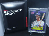 Topps Project 2020 Ken Griffey Jr. 1989 Topps Traded #66 By Rochester In Hand