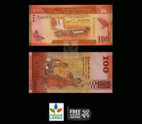 Sri Lanka CEYLON 100 RUPEES Beauty Bank Note - Original UNC - Sri Lanka RS.100