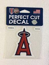 "Anaheim Angels 4"" x 4"" Logo Truck Car Auto Window Die Cut Decal New! Team Colors"