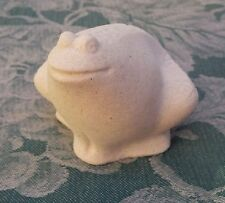 MARBELL Stone Art from Belgium - Frog Figurine