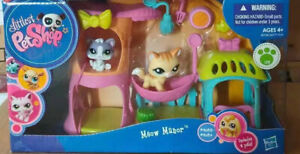 Littlest Pet Shop LPS Authentic Meow Manor #2033 #2034 Kitten Cats