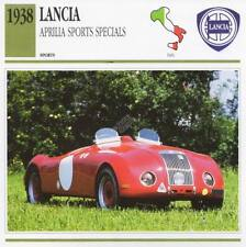 1938 LANCIA APRILIA Special Sports Classic Car Photo/Info Maxi Card