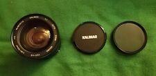 KALIMAR 28-105 mm Macro Zoom Focuzing Lens w 72mm filter.