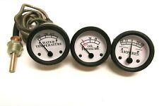 Temperature, Oil Pressure, Ammeter Gauge Set for John Deere Tractor Ship Fr Usa