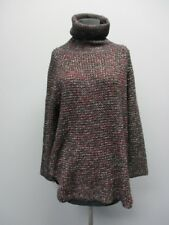 THML Black Turtle Neck Long Sleeves Knit Casual Sweater Sample NWT Sz S CC5043