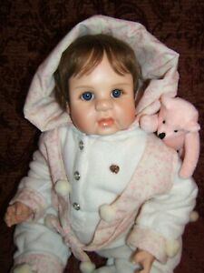 "Molly 22"" Resin Doll by Suzan Wolters"