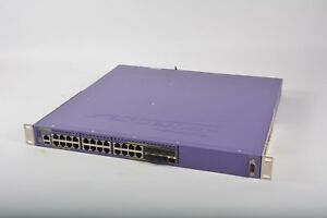 Extreme Networks Summit X460-24p 24-Port Managed Switch 16403 w/ 2x PSU + EDGE