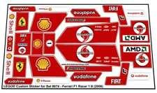 Lego® Custom Pre-Cut Sticker for Racers Set 8674 - Ferrari F1 Racer 1:8 (2006)