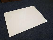"0.5mm A5 A4 A3 20th 0.020/"" Black /& White HIPS Plasticard Styrene"