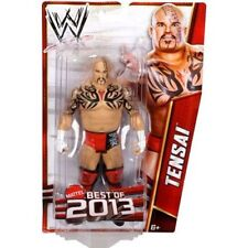 Tensai WWE Best of 2013 Wrestling Action Figure NIB Mattel NIP WWF Prince Albert