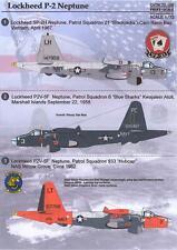 Print Scale Decals 1/72 Lockheed P-2 Neptune Navy Asw Patrol Aircraft