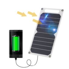 Ultra-thin Outdoor Emergency Solar USB Charger Power Bank Charging Panel 10W YA