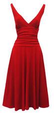 Abbigliamento vintage rossi per donna taglia 42
