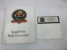 Beagle Write Software Desk Accessories