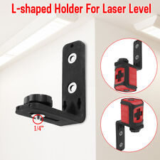 "Universal 1/4 "" Laser Level L-Bracket Holder Strong Iron Magnet Adsorption Stand"