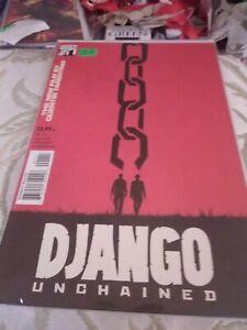 Django Unchained#1A, Vertigo, Movie Art Cover, VF/NM