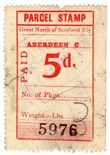 (I.B) Great North of Scotland Railway : Parcel 5d (Aberdeen)