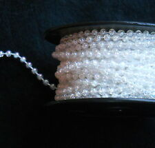4MM STRUNG PEARLS/ BEADS/ BEAD STRING/ BRIDAL X 2 METRES- CHOOSE YOUR COLOUR ***