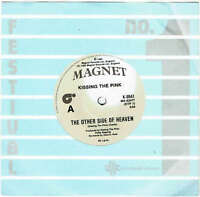 """KISSING THE PINK - THE OTHER SIDE OF HEAVEN - 7"""" 45 VINYL RECORD - 1984"""