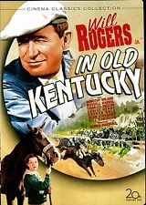 USED DVD // WILL ROGERS - IN OLD KENTUCKY - 1935 - RESTORED - BILL ROBINSON