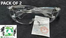 2 X PROTECTIVE GLASSES EYES, WORK, INTERIOR, EXTERIOR, MOTORCYCLE