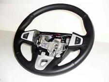 Steering Cover Renault Megane Black Real Leather Key Holder