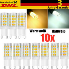 10x G9 LED Warmweiß Kaltweiß 5W Ersetzt 40W Halogen Lampe AC 220V - 240V