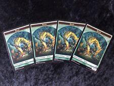 BEAST TOKEN X4 Battlebond MTG Magic Card Pack Fresh !! NM/Mint Token Play Set