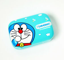 New Super Cute Blue Doreamon PU Leather Hard Eye Contacts Lens Box Case Holder