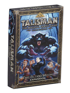 Talisman 4th Edition The Blood Moon Expansion - NEW Board Game - AUS Stock