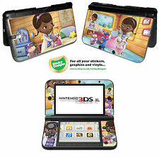 Disney Doc McStuffins Vinyl Skin Sticker for Nintendo 3DS XL