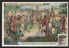 Burma Funeral Ceremony Religion Asia Cariens 1910 Trade Ad Card