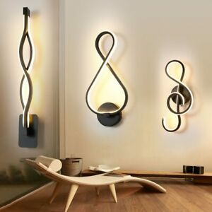 Wall Lamp Living Room Bedroom Bedside Nordic Sconce Modern LED Light Indoor