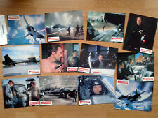 CLINT EASTWOOD:  FIRFOX - set of 12 German lobby cards 1982  - cold war classic