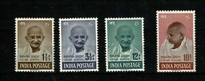 DE408 INDIA 1948 Ghandhi issue   MH