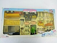Vintage New Ray Farm Land playset boxed complete with friction tractor P1