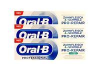 3x Oral-B Professional Zahnfleisch und Zahnschmelz Pro-Repair extra frisch 75 ml