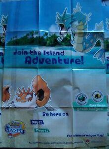 POKÉMON💧JOIN THE ISLAND ADVENTURE💧POSTER~61X91,5~ORGANIZED PLAY~2004~NEW