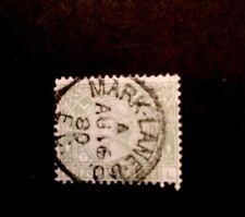 GB Telegraph Stamp QV1877 G T5 Plate 1 W/M S/W INV LG Garter Fine Used