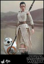 STAR WARS THE FORCE AWAKENS: REY & BB-8 1:6 SCALE FIGURE SET HOT TOYS  SIDESHOW