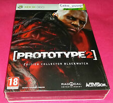 PROTOTYPE 2 EDITION COLLECTOR BLACKWATCH  NEUF SOUS BLISTER XBOX 360