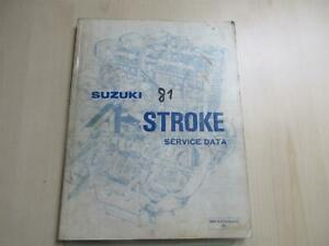 Suzuki GSX 400 GSX 1100 Cuaderno De Manual Instrucciones Motor 99510-01810-01E