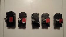 5 x 15A 1 pole Bulldog Pushmatic Breakers FREE SHIPPING
