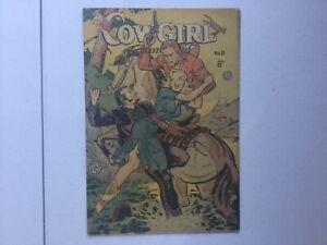 Cowgirl Romances 11 Australian Print 1952 Fiction House GGA Maurice Whitman VG