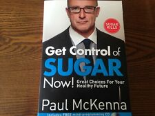 Get Control of Sugar Now! by Paul McKenna Book and CD New