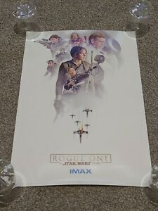 STAR WARS ROGUE ONE Original Cinema EXCLUSIVE PROMO Poster 3 of 3 IMAX