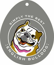 English Bulldog Sticker 4×4″